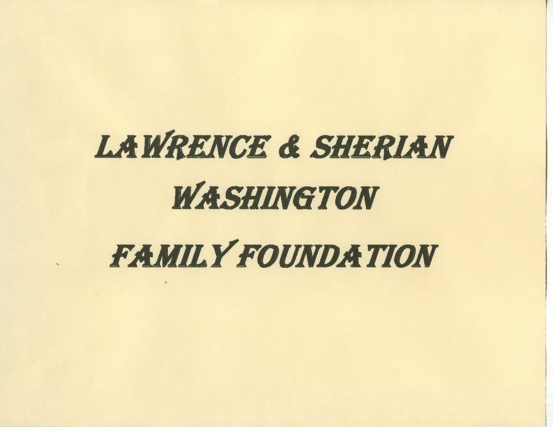 Lawrence & Sherian Washington Family Foundation